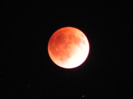 月食(食の最大) 2011-12-10